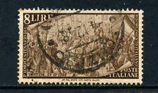 1948 - ITALIA - 8 LIRE CENTENARIO RISORGIMENTO - USATO - LOTTO/25234