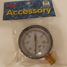 Lot of 2 Jed Pool Tools Lower Pressure Gauge 80-845