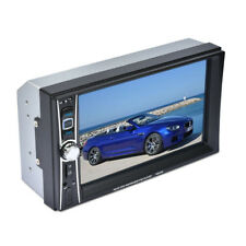 "Écran tactile 7"" 2 Din Bluetooth Voiture Stereo DVD CD MP3 HD Player TV radio FM AUX"