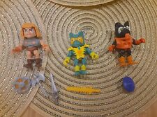 Masters if the universe Motu He-Man Stinkor Merman  Loyal Subjects w/ boxes