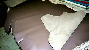 Cowhide Brown Heavy weight leather 1 and 1/2 Hide.