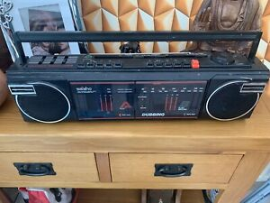 Vintage Radio Saisho T 404. Twin Cassette Twin Band Radio