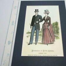 Fashion. British Summer 1886