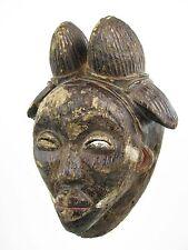 GothamGallery Fine African Art - DRC Gabon Punu Black Tribal Mask B