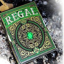 Regal Green Playing Cards poker juego de naipes Expert Playing Card Company