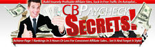 Clickbank Affiliates Paycheck Secrets Videos on 1 CD