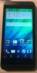 HTC Desire 610 8GB Gray (AT&T) Fast Ship Good Used Missing Tray