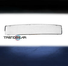 1991-1996 CHEVY CAPRICE MAIN UPPER STAINLESS STEEL MESH GRILLE GRILL CHROME 1PC