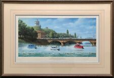 TONY SMITH -GETTING AWAY WITH IT- SIGNED LIMITED EDITION ITALIAN JOB MINI PRINT