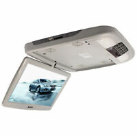 """12"""" Car Monitor With DVD Player Roof Mount MP5 Player Flip Down TFT LCD Monitor"""