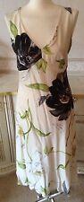 Bnwt Size 10 Alex & Co Vanilla Floral Formal Maxi Dress Formal Wedding RRP £199