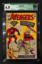 AVENGERS # 2 CGC Qualified 6.0 - 1st Appearance of the Space Phantom (IK)