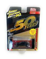 """Johnny Lightning 1/64 1991 Black & Gold Honda CRX """"Special Anniversary"""" CP7197-5"""