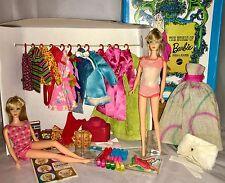 Vintage Mod Barbie TNT Lot! '68 Sears Exclusives, HTF, Gowns, Tag'd, Japan Shoes