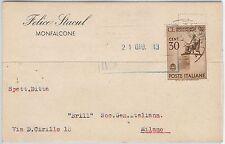 CARTOLINA d'Epoca - GORIZIA - Monfalcone -  fbllo ROSSINI 1943