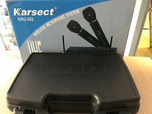 Karsect KRU-302 doppio microfono