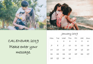 Family Friends A3 2021 Calendar with your photos, present for mum, dad