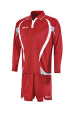 MACRON LONG SLEEVE EMIR SET - RED/WHITE - X SMALL