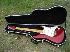 Fender American USA Stratocaster Red with Matching Headstock