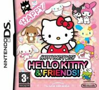 Happy Party with Hello Kitty & Friends (Nintendo DS Game) *GOOD CONDITION*