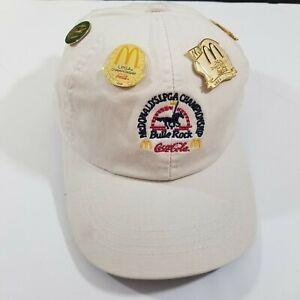 Extreme Fit AHEAD McDonald's LPGA Championship Coca Cola Hat with 6 Pins