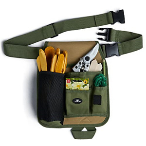 Case4Life - Gardening Tool Bag Belt - Adjustable Waist Garden Tools Organiser -