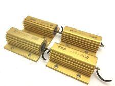 Lot of 4 TE Connectivity CGS HSC100 6K8 J Resistors, 6.8K Ohm 50/100 Watt 5%