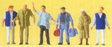 H0 Preiser 14046 Mission de la gare figurines. EMBALLAGE D'ORIGINE