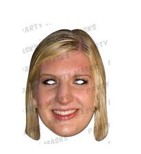 Rebecca adlington Celebrity Cartón Máscaras-Único