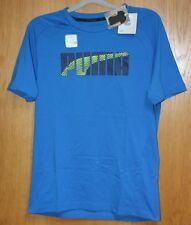 Puma Men's Sports - T Shirt Evostripe Blue Size S New With Label
