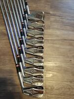 Nice Macgregor Tourney DX-1 iron set 2-9 and 11(pitching wedge)