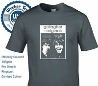 Gallagher Brothers Tribute T Shirt - Originals Oasis Style Pretty Green Casual