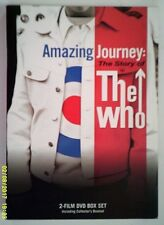 Amazing Journey The Story of The Who (2007 Universal Studios 2 DVD's) Box Set