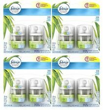 8 Febreze NOTICEables Scented Oil Refills Spring Meadows & Cleansing Rain (4Pks)