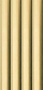 4 PK GOLDPlain Metallic Foil Effect Wrapping Paper Roll