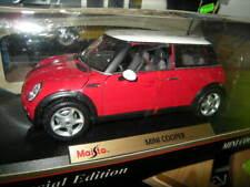 1:18 Maisto Mini Cooper BJ.2003-2008 rot/red in OVP