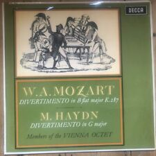 SXL 6055 Mozart / M. Haydn Divertimenti / Vienna Octet W/B