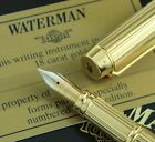 "Waterman Le Man ""Ideal"" Centennial Solid Gold Set - Fountain Pen & Ballpoint"