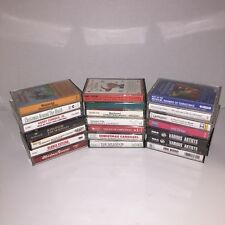 21 Christmas Holiday Cassette Tapes Lot Bing Clooney Estefan Country Classics