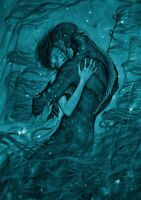 THE SHAPE OF WATER Movie PHOTO Print POSTER Film Art Guillermo del Toro 002