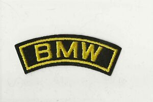 Vintage BMW Motorcycle Patch, BMW Motorcycle Co, Motorcycle Patch