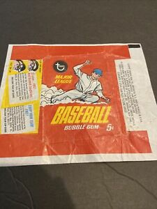 1967 TOPPS BASEBALL 5 CENT WAX PACK WRAPPER~FREE SHIPPING