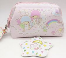 Little Twin Stars Cosmetic Bag Multipurpose Pouch with Mirror #016