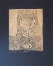 "Exlibris Anna Tikhonova C3 2011 / Erotic "" Sea Birds "" Signed"
