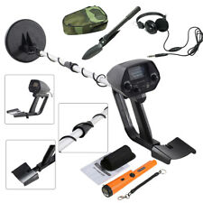 Waterproof Pro Metal Detector Gold Digger Hunter Deep Sensitive Search Headphone