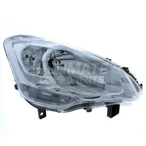 Citroen Berlingo B9 Van 2008-2019 Headlight Headlamp Chrome Inner Drivers Side