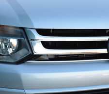 Chrome Front Grille Accent Trim Covers To Fit Volkswagen T5 Transporter (10-15)