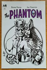 The Phantom #6 by Hermes Press, Variant cover 6A, black and white, Sal Velluto