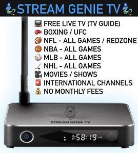Stream Genie TV - Brand New (Updated!! Plug and Play)