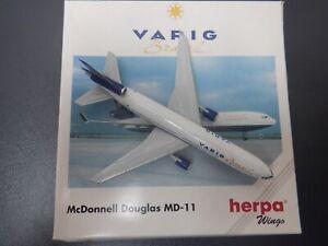 Herpa Wings 1:500 Varig Brasil McDonnell Douglas MD-11 503402 EXC #861